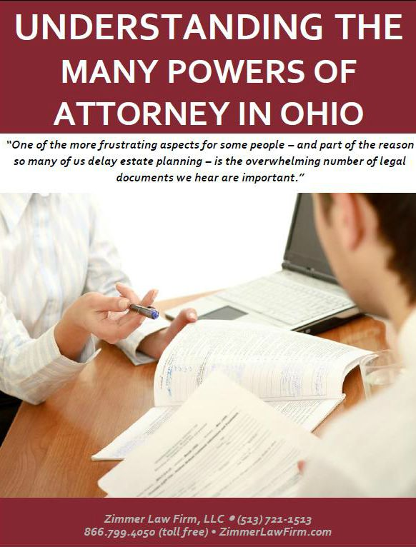 Understanding the Many Powers of Attorney in Ohio